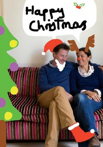 Nick Clegg Christmas Card  2013